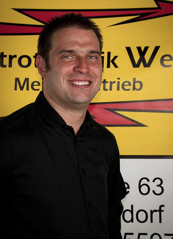 Elektriker Florian Welter aus Troisdorf